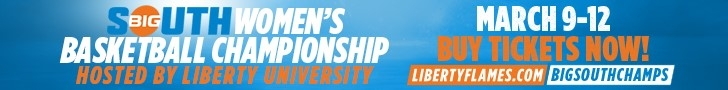 2017 Big South Women's Basketball Championship Ticket Info - Long Banner Ad